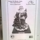 NEW The Memory Company MLB #MLB-KCR-108 Kansas City Royals SANTA Figurine Retired HTF