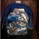 DC Comics Batman POWER Backpack NEW Black w/ Blue