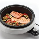 Crofton ASP-137 3-Quart/10-inch 3-in-1 Super Pot with Grill Plate NEW