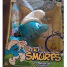 NEW Smurfs 50th Anniversary Plush with Sound and Collector Figure + DVD