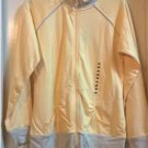 NEW NEW YORK LAUNDRY Zipper Performance Jacket - Meium Yellow Gray