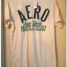 Aeropostale New York Athletics 1987 T-Shirt Tee Opal Size Medium Mens Teens Boys NEW