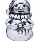 NEW PUGSTER Snowman European Style Bead Silver $19