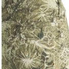 Womens Cargo Capris Capri Pants by Axcess Sz 12 NEW Ivy Green Floral