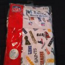 NFL ALL TEAMS 2 Pack Boxer Briefs Little Boys Size 5/6  NEW