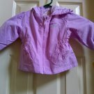 OshKosh B'Gosh Infant Baby Jacket Purple Hooded Coat 6/9 Months