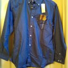 Old Navy Brand Solid Blue Button Down Shirt Boys Oxford XL 14 NEW