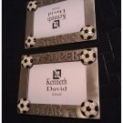 "Kenneth David Easel Soccer Super Star Photo Fame Holds 5"" x 3.5"" Lot of 2 NEW"