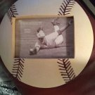 Connoisseur Baseball Shaped Photo Picture Frame Ceramic Mantle Style NEW