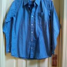 Urban Pipeline Button Front Long Sleeve Casual Striped Shirt BOYS Large NEW