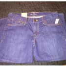 NWT Old Navy Women The flirt Crop Mid Rise Jeans Capris Dark Wash Sz 6