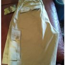 Van Heusen Mens Size 30 Cotton Cargo Shorts Flat Front Relaxed Fit Khaki Tan NEW