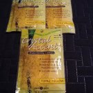 Crystal Accents Water-Storing Crystals in Topaz Yellow Lot of 3 1 Ounce Bags NEW