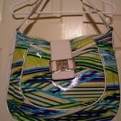 Attention Brand Handbag Purse Shoulder Bag Locked Out Zip Close NEW