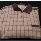 Safe Harbor Sportswear Brand Long Sleeve Polo Mens Shirt Sz XL Stone NEW