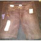 NEW FF46KLON Size 4/26 x 34 Long Black Wash London Stretch Boot Cut Jeans by Unchartered Territory