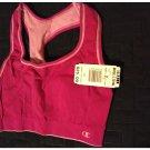 NEW Medium Champion Double Dry Women's Seamless Reversible Sports Bra # 2961 Berry Blast