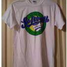 EUC Adult Small S Undated Softball Champions Tee Graphics White