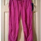 Juniors Miley Cyrus Medium M Rose Bloom Cropped Capri Length Fleece Pants New