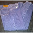 Mens Arizona 100% Cotton Dark Stonewashed Premium Denim Orig Fit Jeans Sz 34X30 Pre-Owned