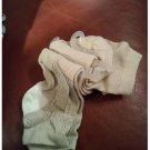 New Lot of 2 Low Cut Socks Tan Argyle & Tan by Merona Sz 4-10 Casual Socks NEW