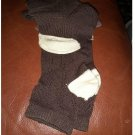 New Lot of 2 Low Cut Socks Brown Argyle & Brown by Merona Sz 4-10 Casual Socks NEW