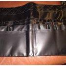 ELF E.L.F. Studio Makeup Artist Brush Belt Holder in Black Faux Leather NEW