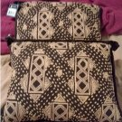 NEW Set of 2 Chaps Desert Plains Brown Tan Pillows 16 x 12 Inches NEW