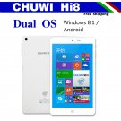 "CHUWI Hi8 8"" IPS Screen Windows 10 Android 4.4 Dual Boot,2GB 32GB Tablet,Bluetooth 4.0"