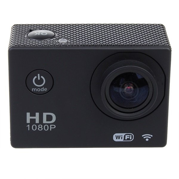 """SJ4000 1.5"""" LCD Screen 12MP 1080P Waterproof Sports Camera with Mount Suite"""