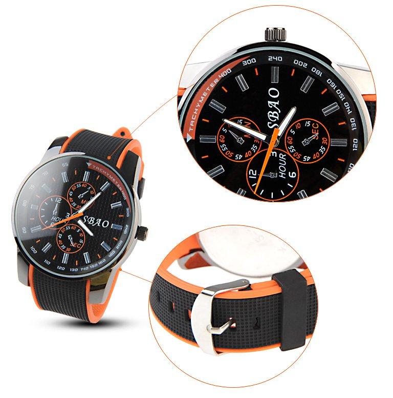 Fashionable Unisex Round Case Style Quartz Watch Wrist Watch Timepiece
