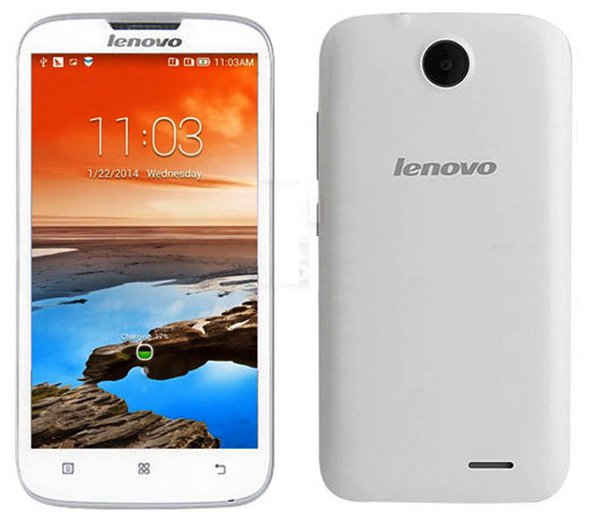 "5.0"" Lenovo A560 Quad Core Android 4.3 Dual SIM 3G Smartphone GPS Unlocked Wifi"