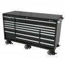 Montezuma BK7217MZ 72-Inch 17-Drawer Roller Tool Cabinet