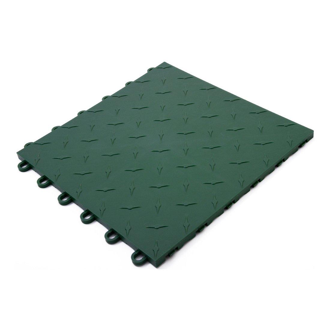 Speedway Garage Tile 789453G Green Garage Floor Tile