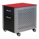 PitStop Furniture FC230R File Cabinet (Red)