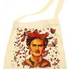 Frida Kahlo Market Cotton Tote Bag Printed Handbag Fair Trade Peru Sack Pouch