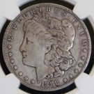 1888 O Top 100 VAM 4 Hot Lips NGC VF 25 Double Die Obverse Morgan Silver Dollar