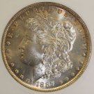 1887 VAM 5 Top 100 MS 62 Morgan Silver Dollar