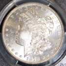 1878 S Hot 50 VAM 6 PCGS MS 64 Double Obverse RIB Brilliant Morgan Silver Dollar