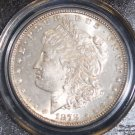 1878 7 over 8 Tail Feathers Strong PCGS Graded MS 63 VAM 38 Morgan Silver Dollar