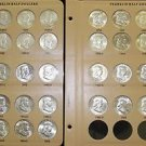 1948-1963 Complete Very Fine to Gem Brilliant Franklin Silver Half Dollar Set