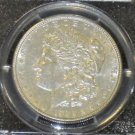 1899 Almost Uncirculated  AU 53 PCGS Certified Scarce Date Morgan Silver Dollar