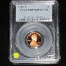1985 S Deep Mirror Cameo Proof PGCS Certified Lincoln Cent Proof 69
