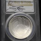 2014 Jim Palmer Baseball Hall of Fame MS 70 Commemorative Silver Dollar