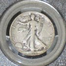 1938-D PCGS Certified Very Good 10 Walking Liberty Silver Half Dollar