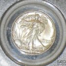 1945 PCGS Certified MS65 Walking Liberty Silver Half Dollar
