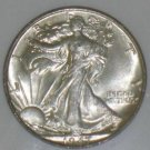 1947 MS 65 Gem Walking Liberty Silver Half Dollar NGC Certified