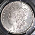 1878 VAM 33 7/8 Tail Feathers Long Nock Doubled Legs MS 64 Morgan Silver Dollar