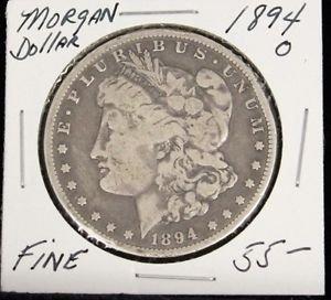 1894 0 Fine Semi Key Date Morgan Silver Dollar