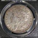 1884 S Key Date PCGS AU 50 Almost Uncirculated Morgan Silver Dollar